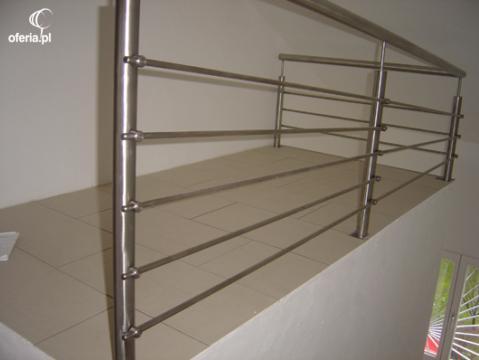 Balustrada nierdzewna barierka krak w tarn w studio metro klaudia jamroz - Balustrade inox leroy merlin ...