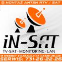 """Montaż anten TV - SAT - """"INSAT"""" Instalacje satelitarne Marcin Stasiak Chorzów i okolice"""