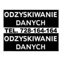 Odzyskiwanie danych dysku - Odzyskiwanie Danych Warszawa - 7dni/24h tel.728-164-164 Warszawa i okolice