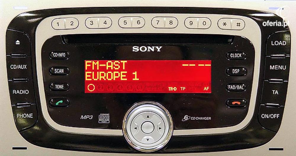 radio ford 6000 cd sony security locked naprawa phu elektro impuls w gr w. Black Bedroom Furniture Sets. Home Design Ideas