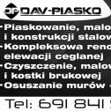 DAV - PIASKO - Dawid Mielczarek Marzenin i okolice