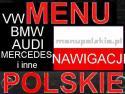 Polskie menu mercedes nawigacja mapa ML GL CLS C E KRAKÓW