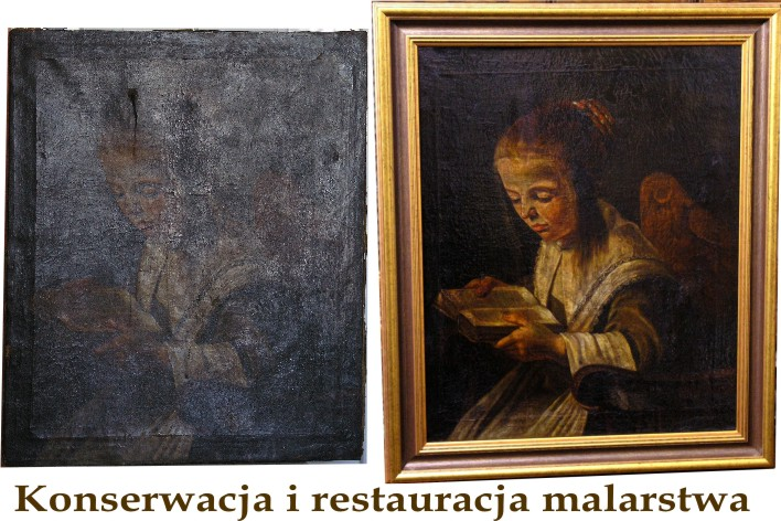 konserwacja portret