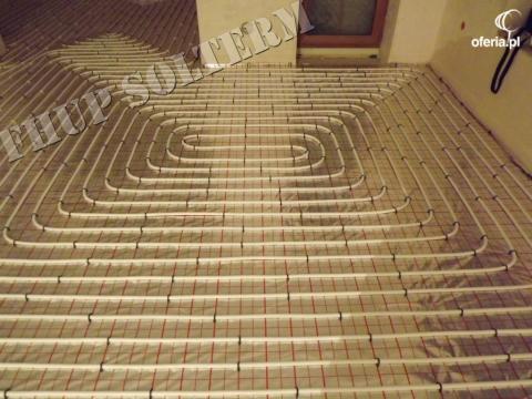 Ogrzewanie podłogowe projekt wykonawczy