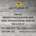 """Remonty """"od A do Z"""" - Artur Kruk PHU ARTURIUS Niewodnica Kościelna i okolice"""