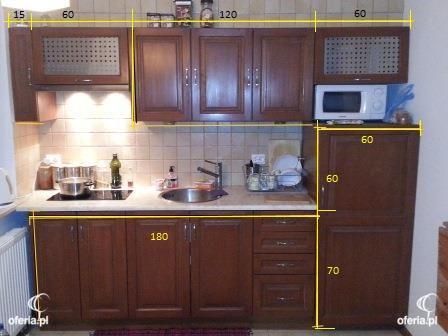 Fronty szafek kuchennych wymiary