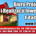 Od A do Z. - Biuro Projektów i Realizacji Inwestycji Fdabo sp.k. KNURÓW i okolice