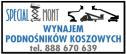 Special-Mont Usługi i Wynajem Podnośników Samojezdnych  Legnica i okolice