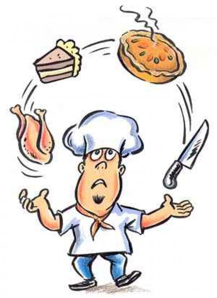 Znalezione obrazy dla zapytania kucharz jpg