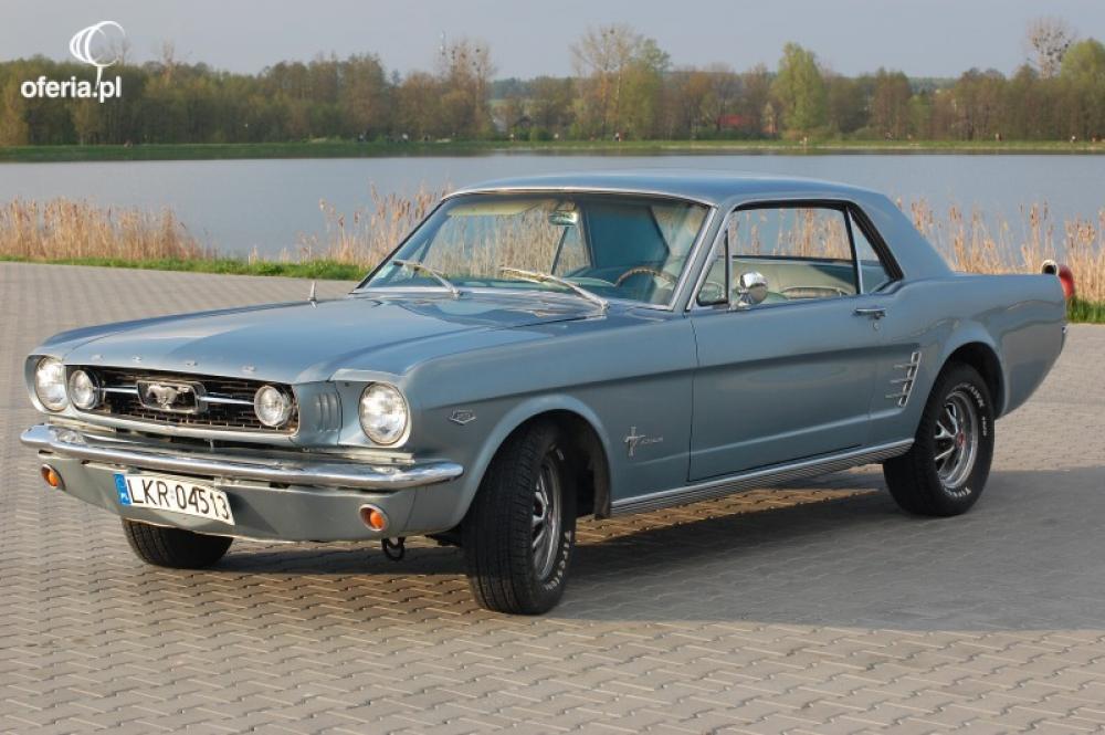 Auto 67 Mustang do Ślubu wynajem cabrio i coupe Warszawa ...