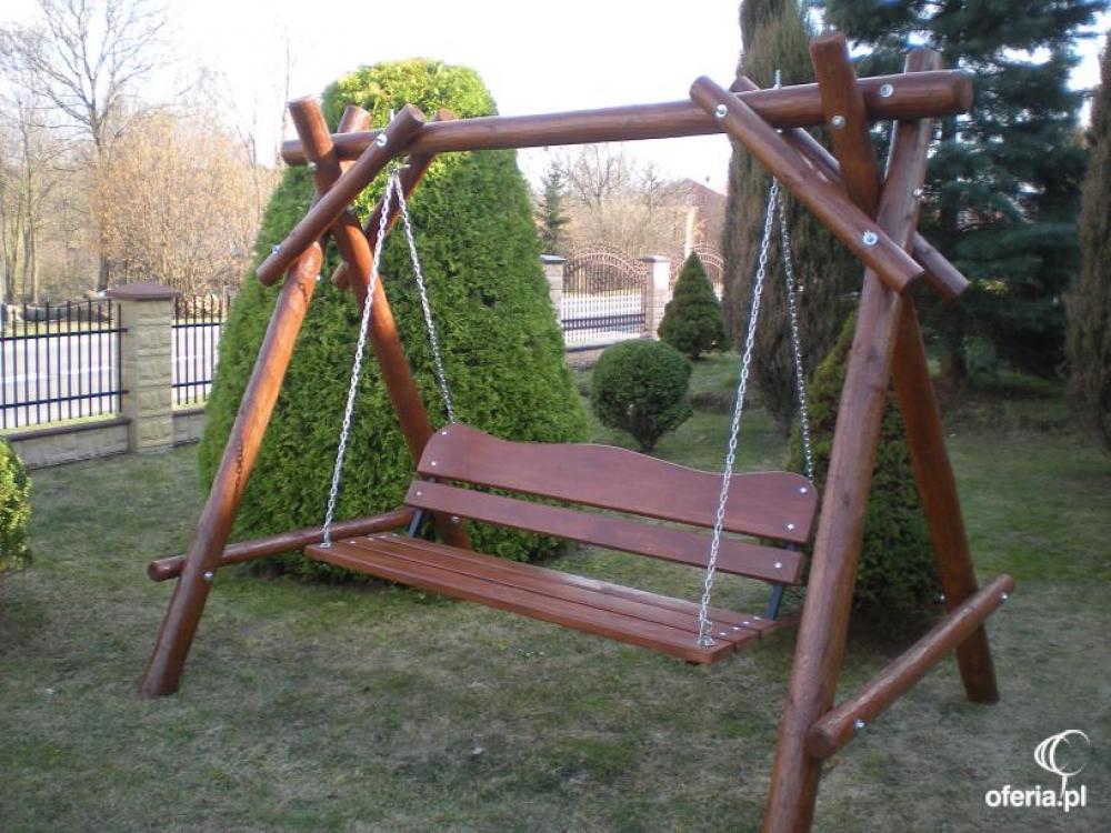 Hustawka Ogrodowa Drewniana Budowa : HUŚTAWKA OGRODOWA drewniana Węglinek 58a • Oferiapl