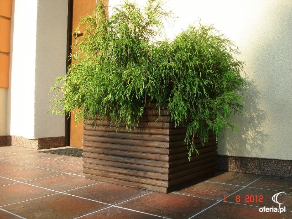 Donica drewniana ogrodowa donice drewniane wymiar • Oferiapl