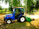 Usługi minitraktorem: glebogyzarka, agr